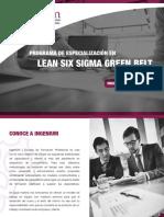 Brochure Lean Six Sigma Green Belt