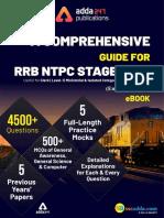 Index RRB NTPC Stage 1 & 2 eBook
