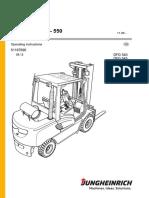 Manual jungheinrich DFG 540-550