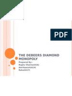 The DeBeers diamond monopoly11