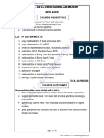 CS8381- Data Structures Laboratory Manual- By LearnEngineering.in