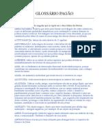 Glossário Pagão