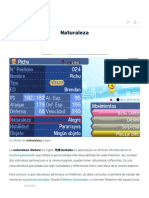 Naturaleza pokemon