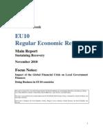 EU10 Regular Economic Report