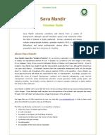Seva Mandir Volunteer Guide