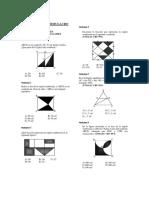 Geometria - Areas Para Simulacro