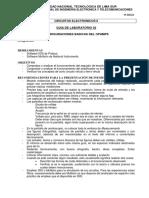 GUIA de LABORATORIO 02 Configuraciones Básicas Del OPAMP