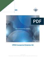 CFDI Comercio Exterior 33 v2