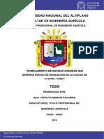 MODELAMIENTO DE MAXIMAS AVENIDAS