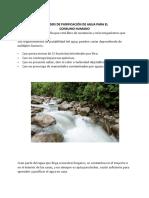 Metodos de Purificación de Agua