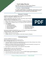Entry level resume example
