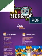 Festival Día de Muertos León 2019