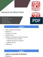 Presentación Presión de Fractura 1