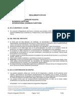 Reglamento Proyecto Integrador