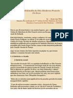 10O Capítulo Holandês do Rito Moderno Francês De Roos