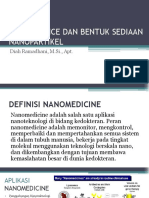 Nanoscience Dan Bentuk Sediaan Nanopartikel Pertemuan 2