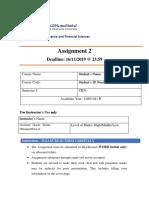 Assignment 2 MGT101