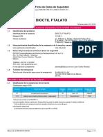 [IDESA] Dioctil Ftalato - MSDS