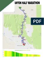 Snow Canyon Half Marathon Course Full