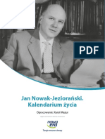 Kalendarium Życia Jan Nowak-jeziorański