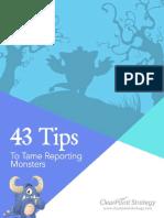 43-TipsToTameReportingMonsters