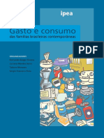 Gaiger - Gasto e consumo das famílias brasileiras contemporâneas Parte 1