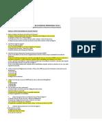 Balotario Esc. Neg. Int. 2019-2, Tit. Examen