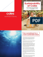 Coles Sustainability-Document 2018