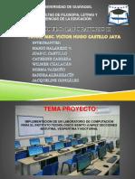 Implementacion Del Laboratorio de UJCM