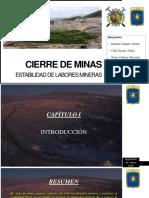 Cap VI - Estabilización de Labores Mineras