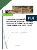 ENSAYO DE PUENTE GEOTECNICO