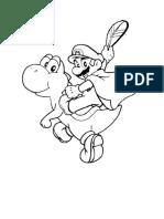 Super Marios kifestők