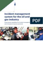 IPIECA OGP Incident Management System