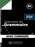 Les Exercices de Grammaire B1