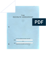 roomate agreement project