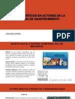 Puntos Críticos en Actores de La Cadena De