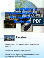 International Freight and Transportation Management ( Las)