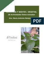 2015 Biologia y Biotecnologia Vegetal