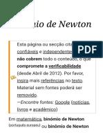 Binómio de Newton – Wikipédia, a enciclopédia livre.pdf