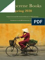 Hippocrene Spring 2020 Catalog