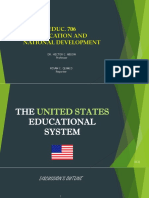 United States Educational System