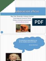 Proceso por colaboración eficaz- Eiser Jiménez Coronel
