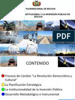 proceso de presentacion de proyectos bolivia