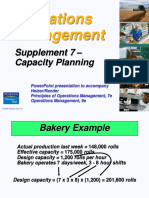 Supplement 7 Capacity Planning