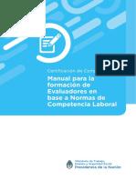 CERTIFICACION 04 Manual Para La Formacion de Evaluadores en Base