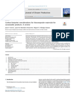 Biocomposites Carbon Footprint