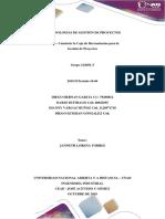 Fase 3 – Construir La Caja de Herramientas Gestión (3)