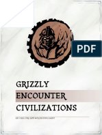 Grizzly Encounter Civilizations 2.0
