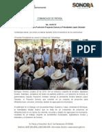 26-10-19 Entrega Gobernadora Pavlovich Proyecto Sonora al Presidente López Obrador