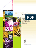 WIPO Guide on the Licensing of Copyright and Related Rights